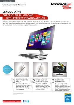 Offers from Lenovo in the Rohtak leaflet