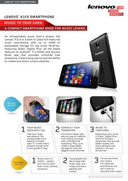 Offers from Lenovo in the Malegaon leaflet