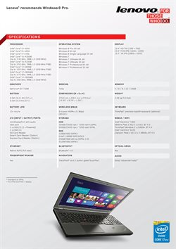 Network offers in the Lenovo catalogue in Bokaro Steel City