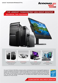 Offers from Lenovo in the Jaipur leaflet