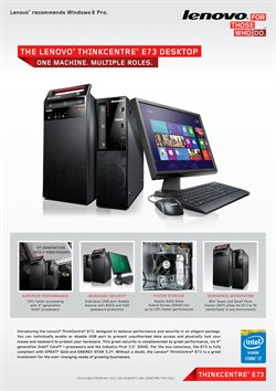 Mobiles & Electronics offers in the Lenovo catalogue in Hyderabad ( 23 days left )