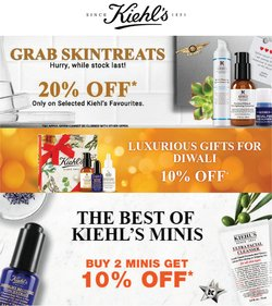 Perfume & Beauty offers in the Kiehl's catalogue ( 21 days left)