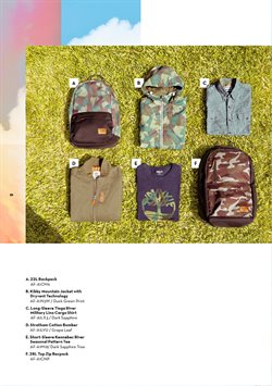 Women's clothing offers in the Timberland catalogue in Delhi