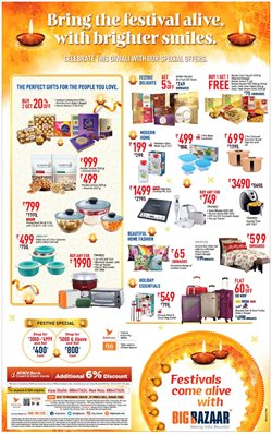 Offers from Big Bazaar in the Nagpur leaflet