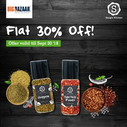 Offers from Big Bazaar in the Cochin leaflet