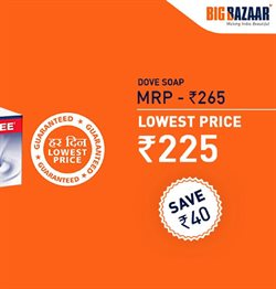 Dove offers in the Big Bazaar catalogue in Delhi