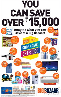 Offers from Big Bazaar in the Mumbai leaflet