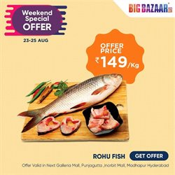 Supermarkets offers in the Big Bazaar catalogue in Bangalore