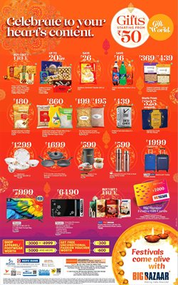 Supermarkets offers in the Big Bazaar catalogue in Hyderabad