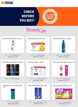 Offers from Big Bazaar in the Hyderabad leaflet