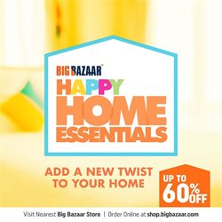 Supermarkets offers in the Big Bazaar catalogue in Mumbai ( More than a month )