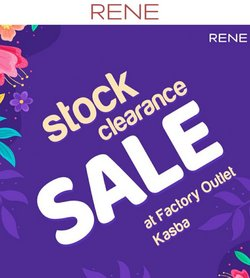 RENE offers in the RENE catalogue ( More than a month)