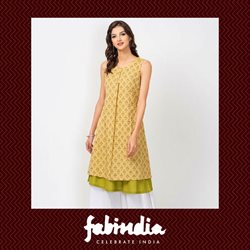 Offers from Fabindia in the Bhilai leaflet