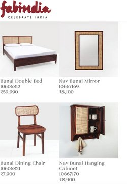 Offers of Bed in Fabindia