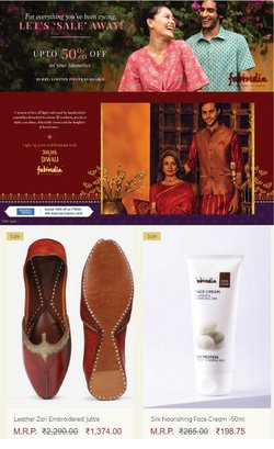 Fabindia offers in the Fabindia catalogue ( 1 day ago)