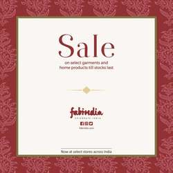 Sales offers in the Fabindia catalogue in Delhi