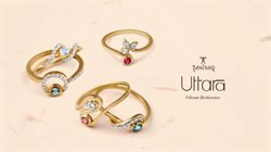 Ring offers in the Tanishq catalogue in Delhi