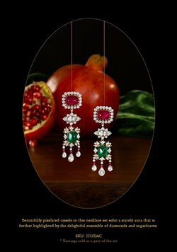 Earrings offers in the Tanishq catalogue in Moradabad