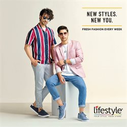 Clothes, shoes & accessories offers in the Lifestyle catalogue in Agra