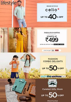 Clothes, shoes & accessories offers in the Lifestyle catalogue ( Expires today)