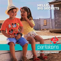Offers from Pantaloons in the Surat leaflet