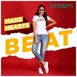 Offers from Pantaloons in the Ahmedabad leaflet