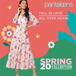 Clothes, shoes & accessories offers in the Pantaloons catalogue in Delhi ( More than a month )