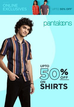 Pantaloons offers in the Pantaloons catalogue ( Expired)