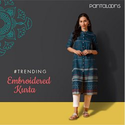 Clothes, shoes & accessories offers in the Pantaloons catalogue ( Expires today)