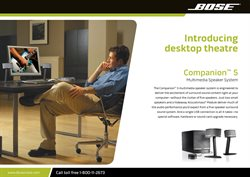 Speakers offers in the Bose catalogue in Delhi