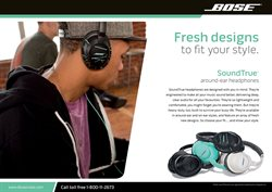 Headphones offers in the Bose catalogue in Delhi