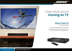 Offers from Bose in the Mumbai leaflet
