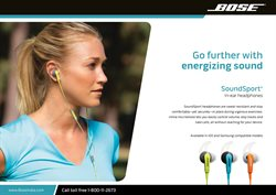 Offers from Bose in the Surat leaflet
