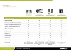 Offers of Audio in Bose