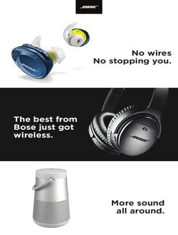 Bose offers in the Bose catalogue ( 3 days left)