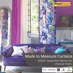Curtains offers in the HomeTown catalogue in Delhi