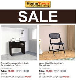 Home & Kitchen offers in the HomeTown catalogue ( 3 days left)