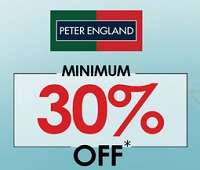Offers from Peter England in the Bhilai leaflet