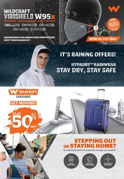 Sports offers in the Wildcraft catalogue ( Expires tomorrow)