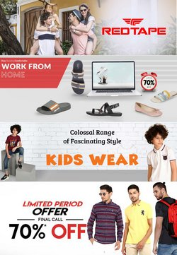Clothes, shoes & accessories offers in the Red Tape catalogue ( Expires tomorrow)