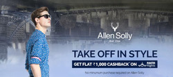 Offers from Allen Solly in the Mumbai leaflet
