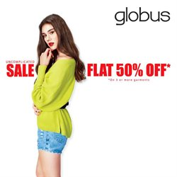 Offers from Globus in the Mumbai leaflet