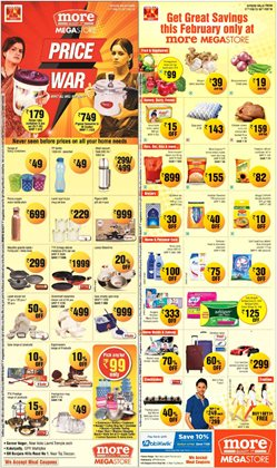 Rice offers in the More Supermarket catalogue in Bhilai