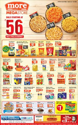 Offers from More Supermarket in the Mumbai leaflet