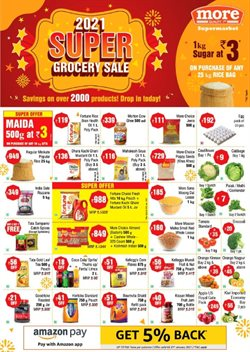 Supermarkets offers in the More Retail catalogue in Delhi ( 11 days left )