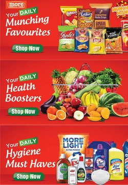 Supermarkets offers in the More Retail catalogue ( Published today)