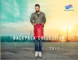 Offers from American Tourister in the Muzaffarnagar leaflet