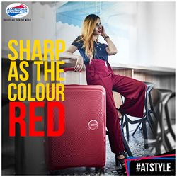 Tie offers in the American Tourister catalogue in Delhi