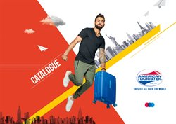Offers from American Tourister in the Mumbai leaflet