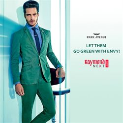 Offers from Raymond in the Mumbai leaflet